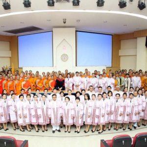 พิธีแสดงความยินดีบัณฑิต หลักสูตรระดับบัณฑิตศึกษา ภาควิชาบริหารการศึกษา ปี ๒๕๕๙